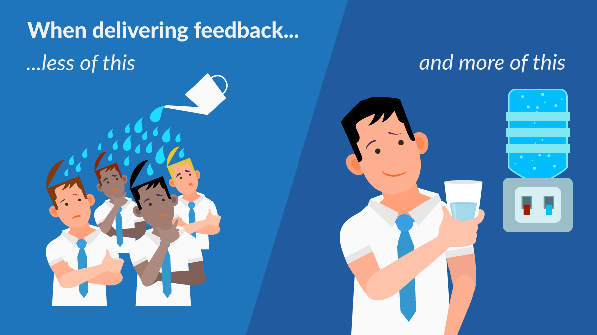how to deliver quality feedback