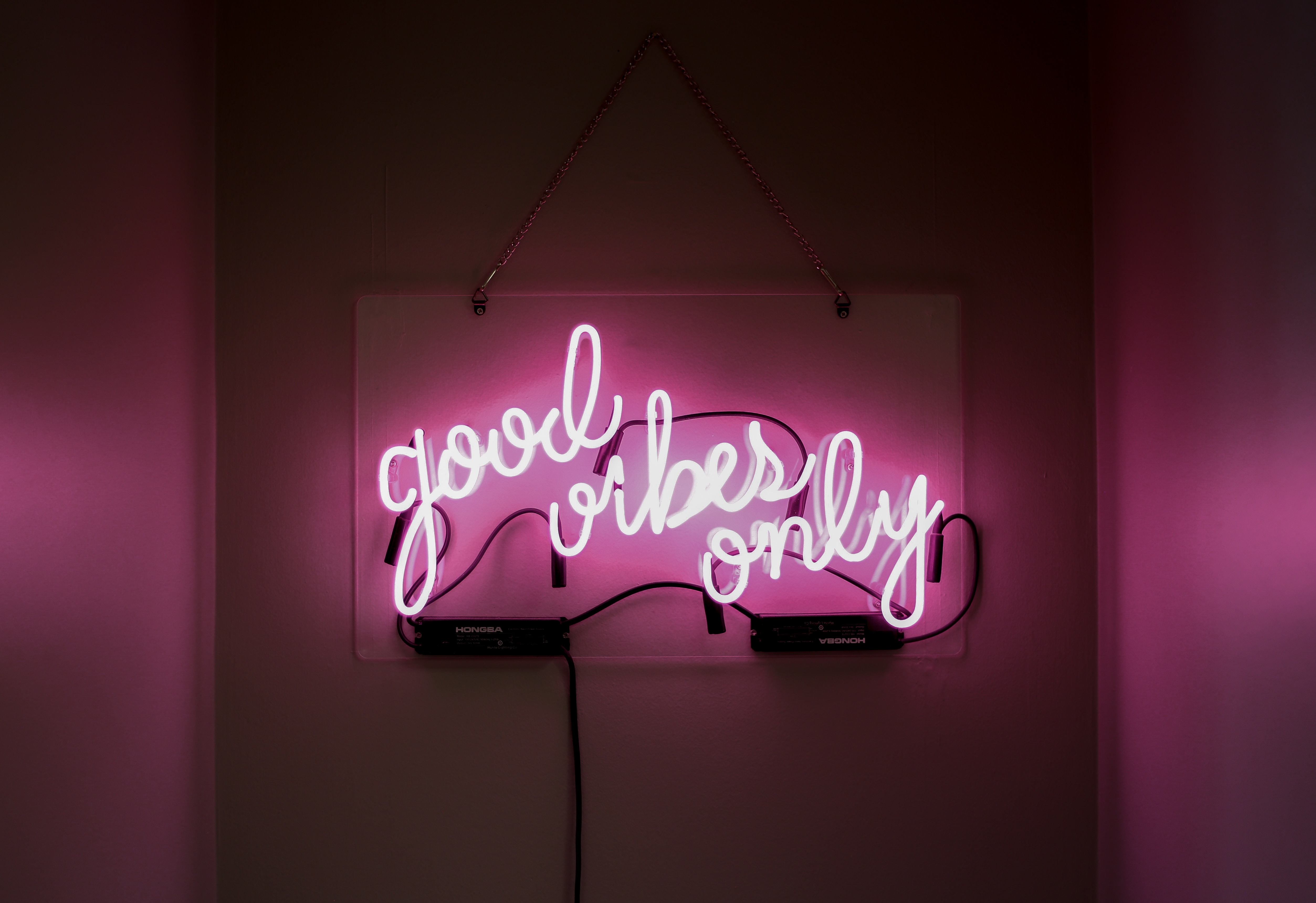 positive lesson observation - good vibes only