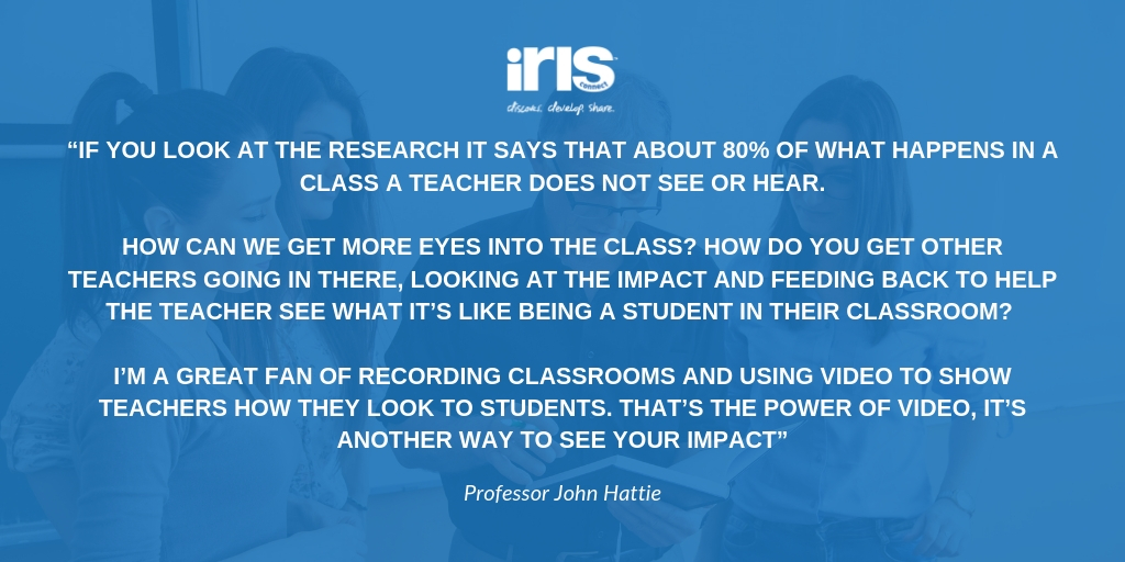 twitter prof john hattie quote